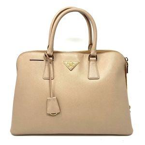 100% Auth Prada Saffiano Handbag